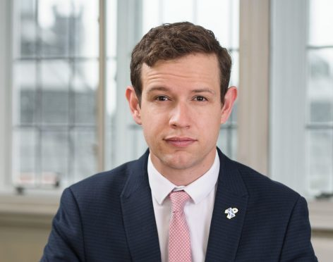 General election candidate Callum McCaig