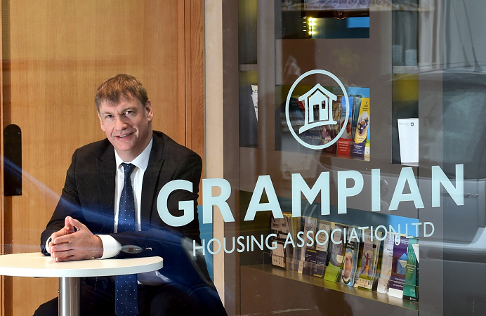 Neil Clapperton, CEO of Grampian Housing Association.