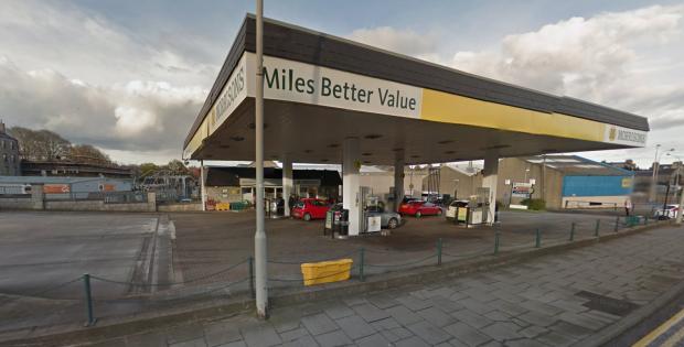 Morrison's petrol station, West North Street. (Google Maps)