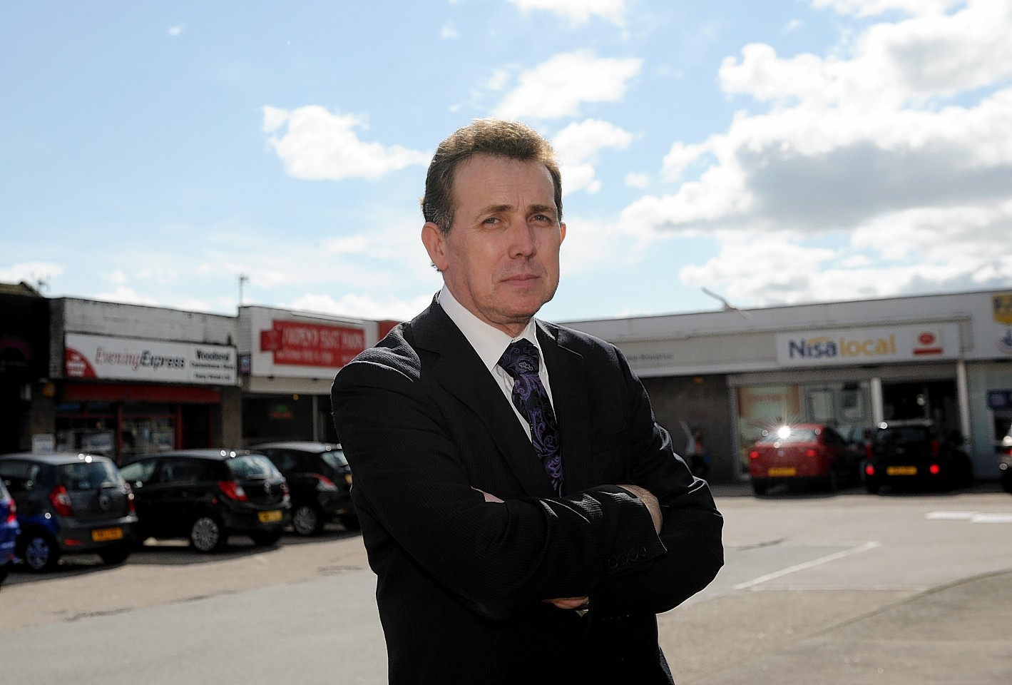 Kingswells, Sheddocksley and Summerhill councillor Steve Delaney.  Picture by Kath Flannery.