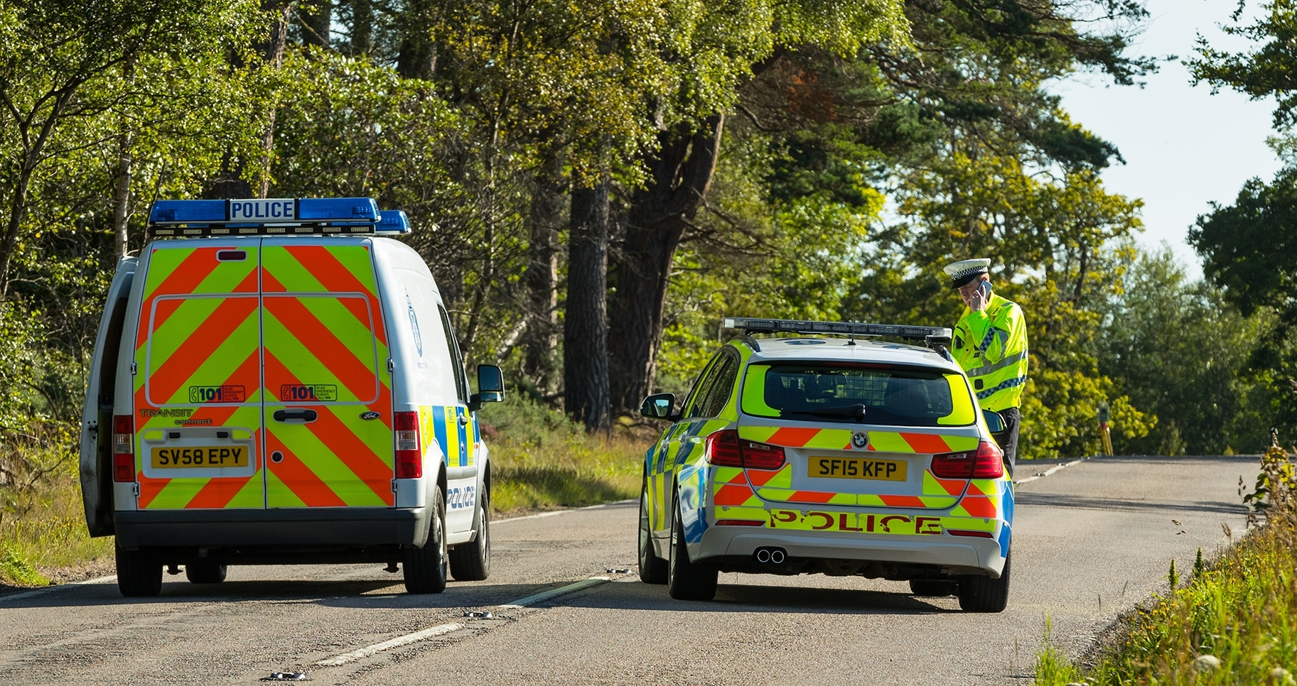 The A9 is currently closed while investigations are carried out.