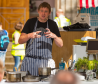 Darren Sivewright, development manager at Baxters, held cookery demonstrations.