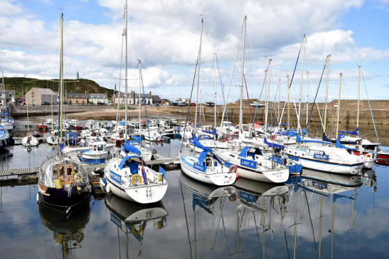 Coastal communities, including Findochty, have seen a significant increase in house prices in the last year.