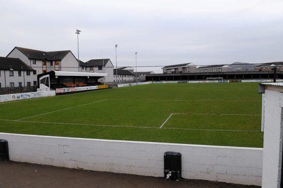 Grant Street Park, home of Clachnacuddin FC