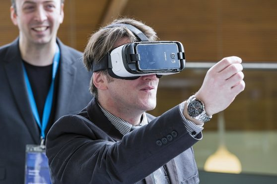 The event will show businesses how they can make use of virtual reality.