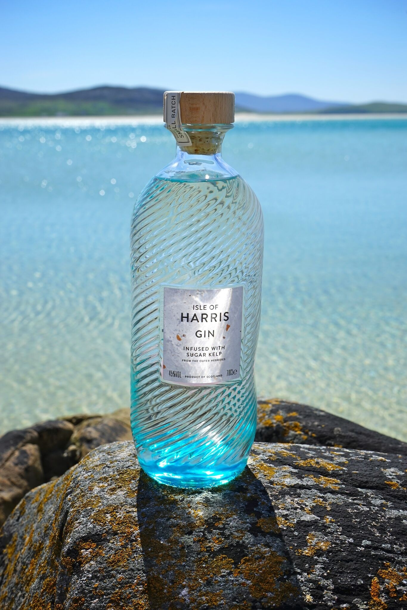 Isle of Harris Gin's distinctive bottles are in short supply.