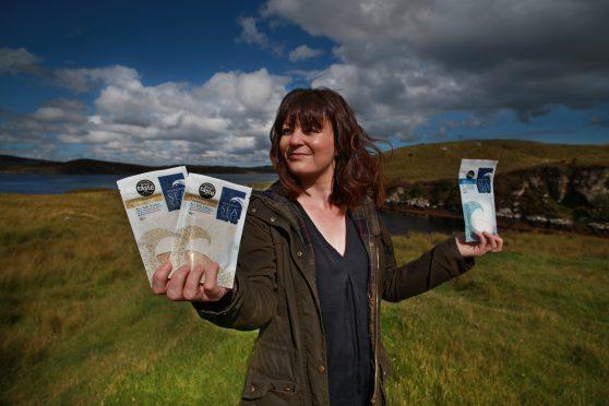 Natalie Crayton, managing director of Hebridean Sea Salt.