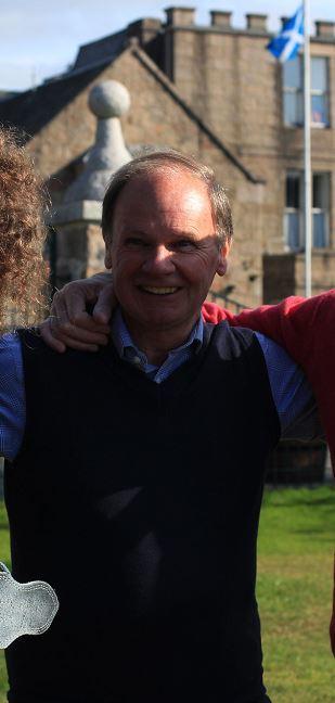 Ian Scott, chairman of the Aboyne Highland Games Committee