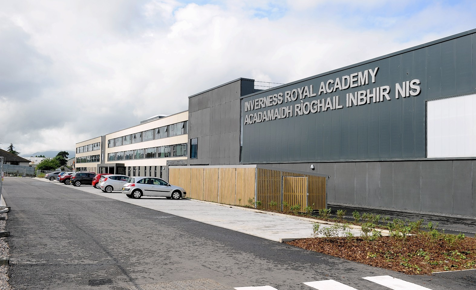 The tools were stolen from a site compund near the new Inverness Royal Academy
