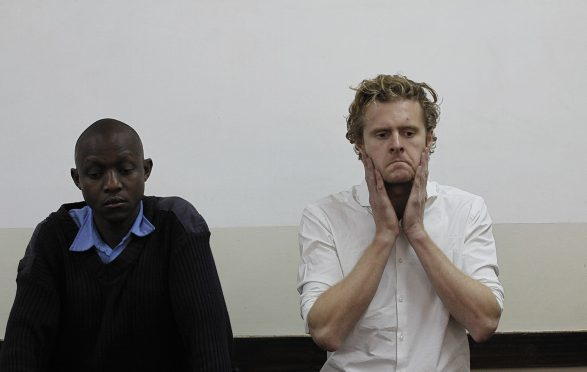 Jack Marrian appears in court in Nairobi, Kenya