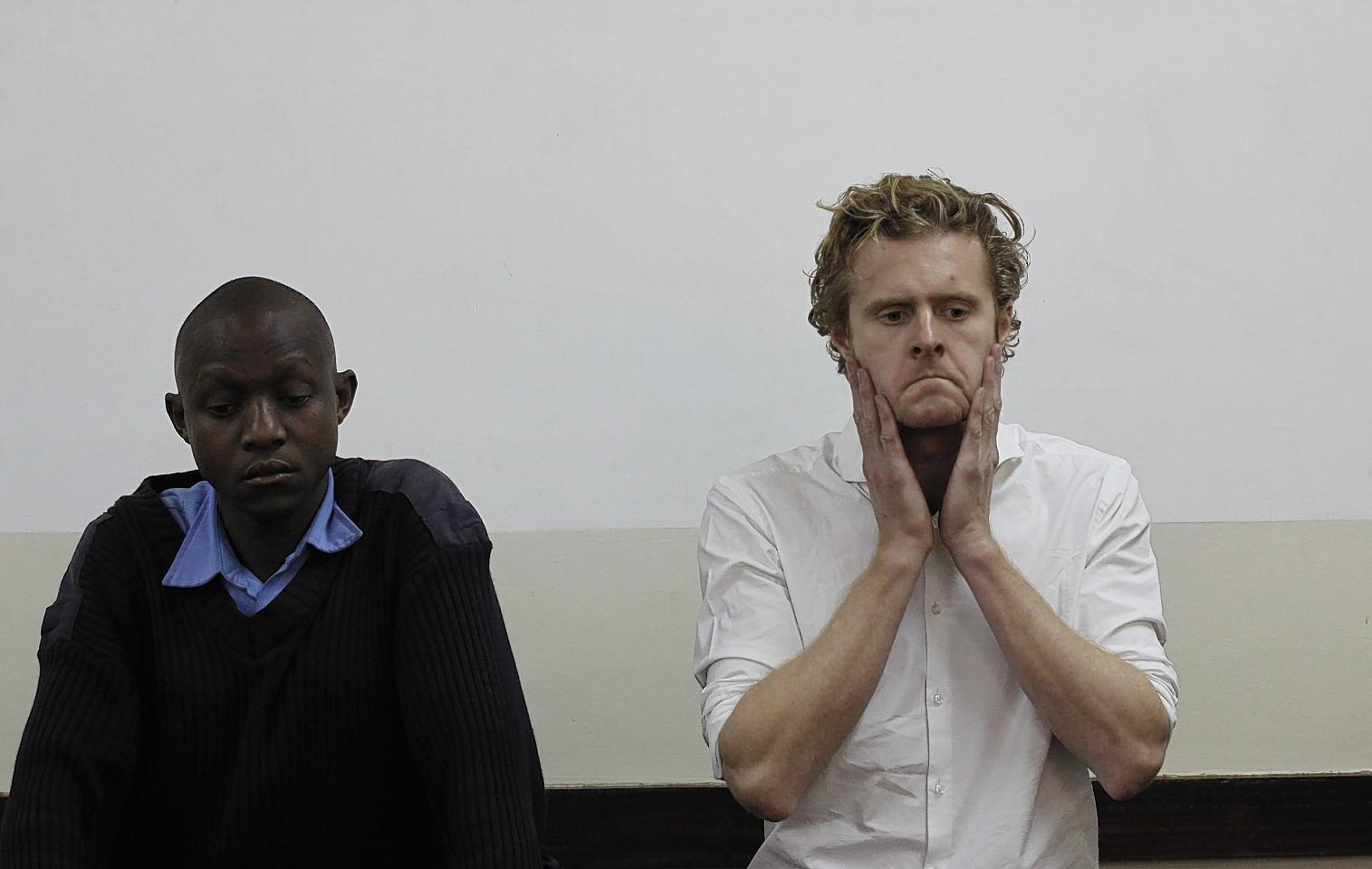 Jack Marrian appears in court in Nairobi, Kenya