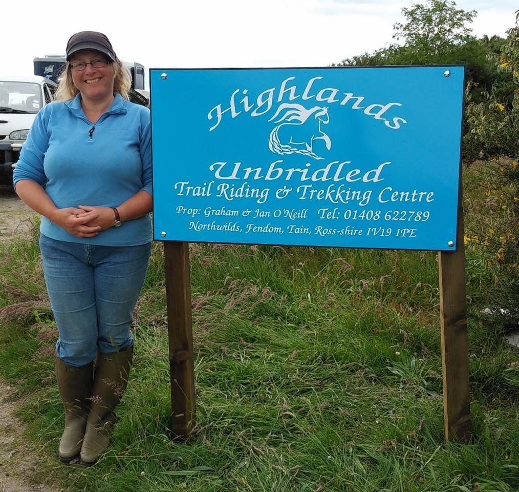 Jan O'Neill of Highlands Unbridled