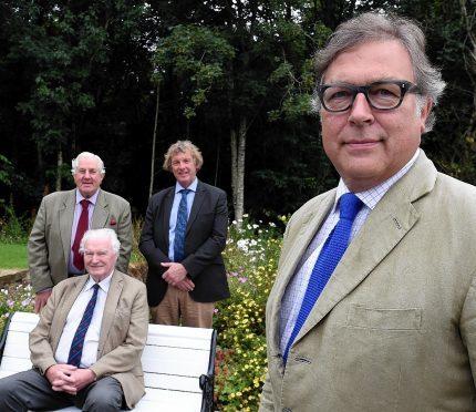 Jim Brown, Neil Godsman, Christo Shepherd and Lord Aberdeen.