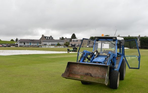 The city's Mannofield Cricket Ground.