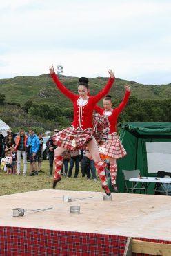Highland dancers at last year's Mallaig and Morar Highland Games