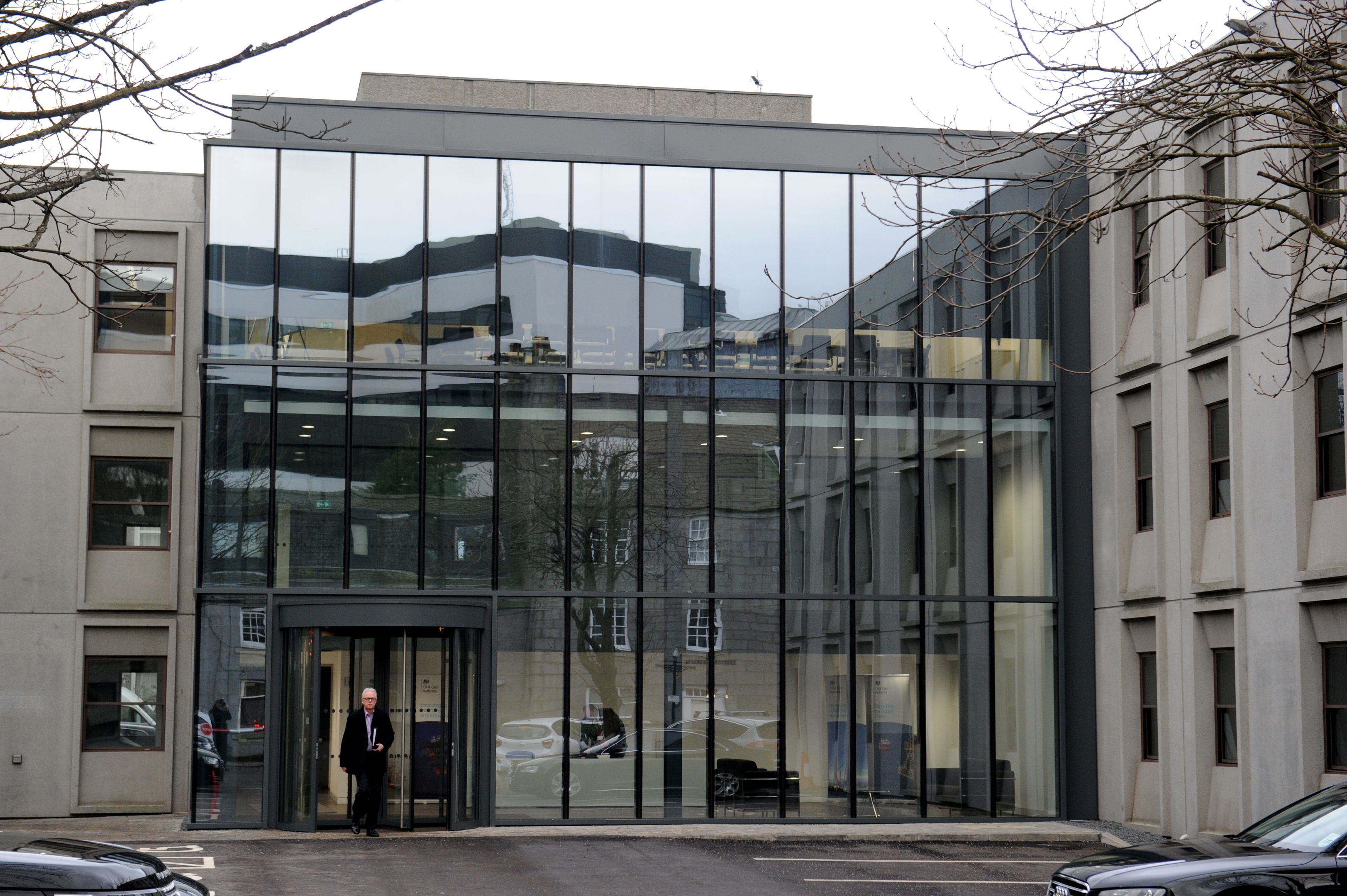 The Oil and Gas Authority (OGA) building in Aberdeen.