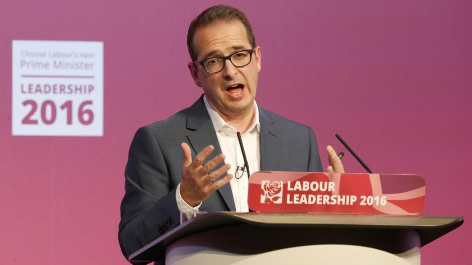 Owen Smith was speaking in Edinburgh yesterday