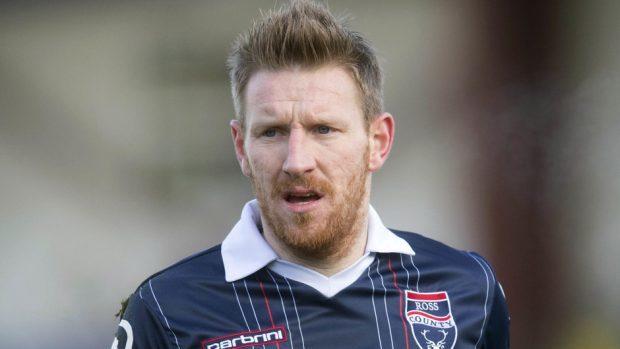 Michael Gardyne equalised for Ross County.