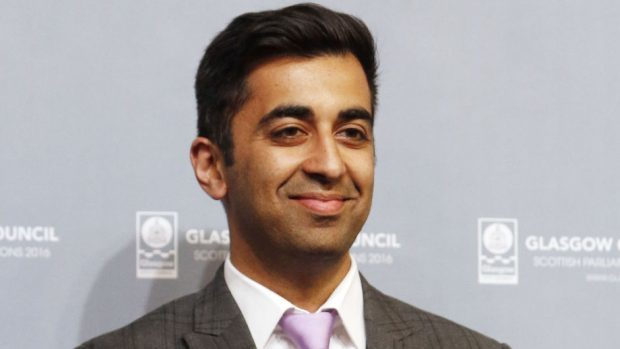 Humza Yousaf says the government are committed to improving walkways and cycle routes.