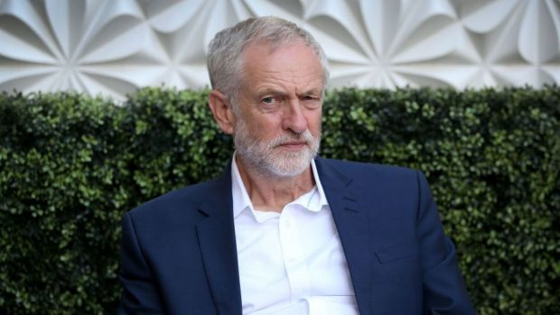 Labour leader Jeremy Corbyn has been in Edinburgh as part of his leadership campaign