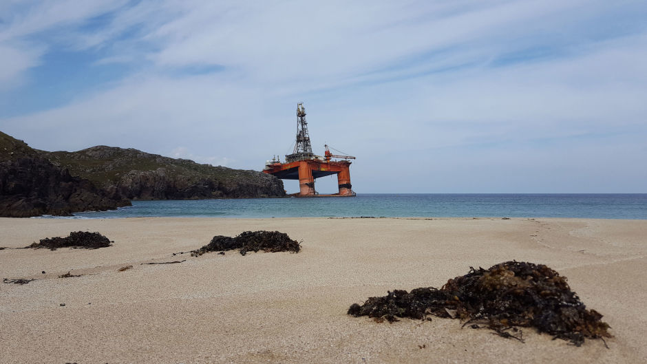 The Transocean Winner drilling rig