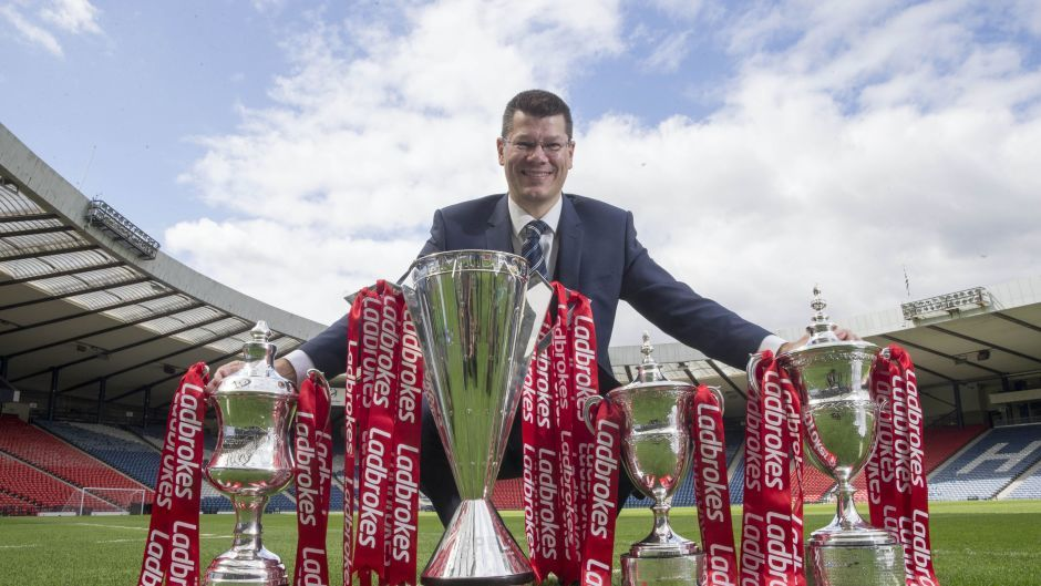 SPFL chief executive Neil Doncaster hasn't officially ruled out reconstruction despite Premiership opposition.