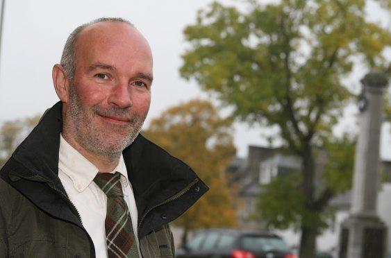 Scottish Crofting Federation chief executive Patrick Krause
