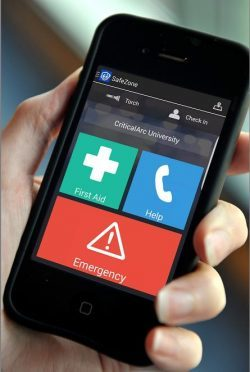 Aberdeen University has launched a mobile phone app, designed to keep students and staff safe during their studies.