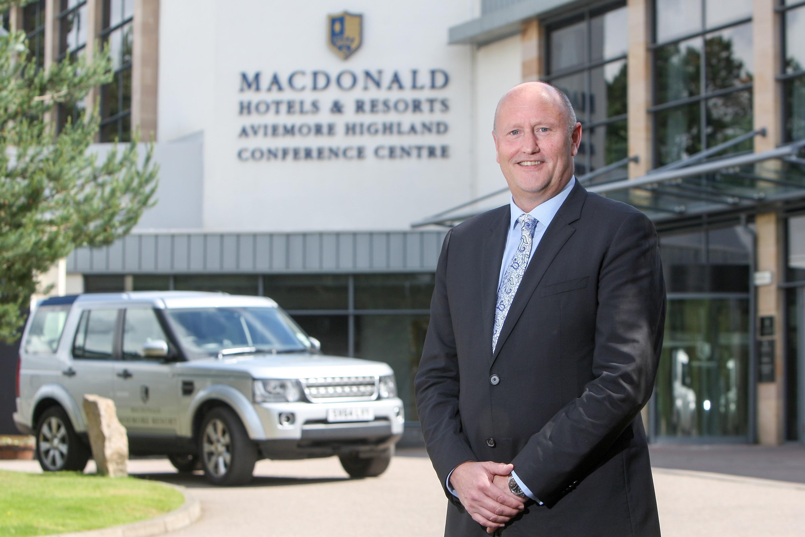 Macdonald Hotels and Resorts' new north chief, Simon Farr.