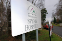 Spynie Hospital will closed to patients in 2006.