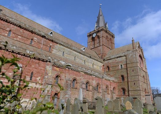 St Magnus Cathedral in Orkney