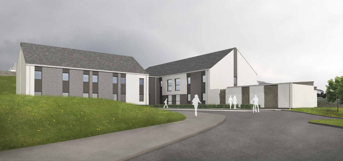 40 student rooms have been proposed for the site where Bishopmill House used to stand.