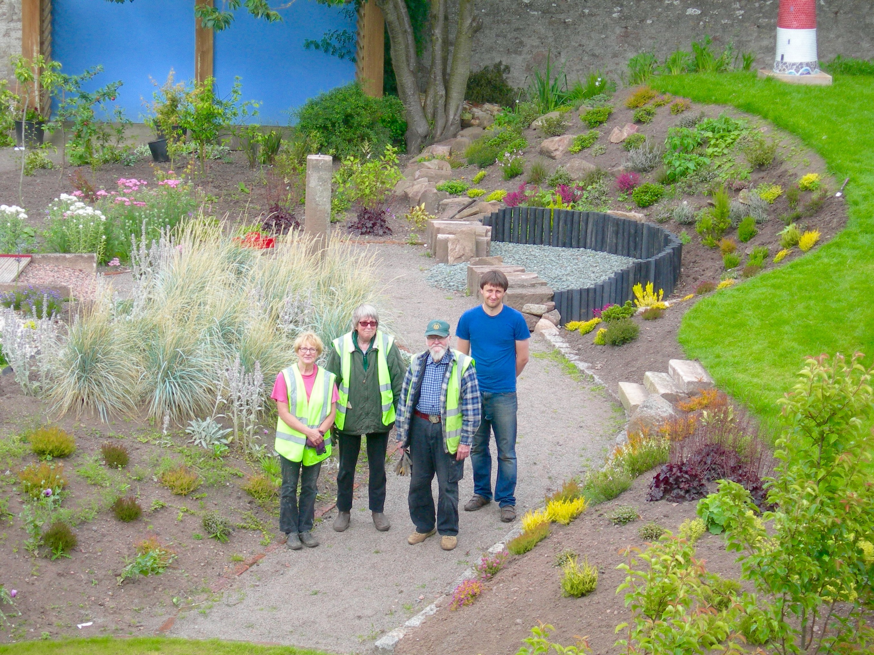 The Voyage of Life garden in Inverbervie has been hailed a huge success