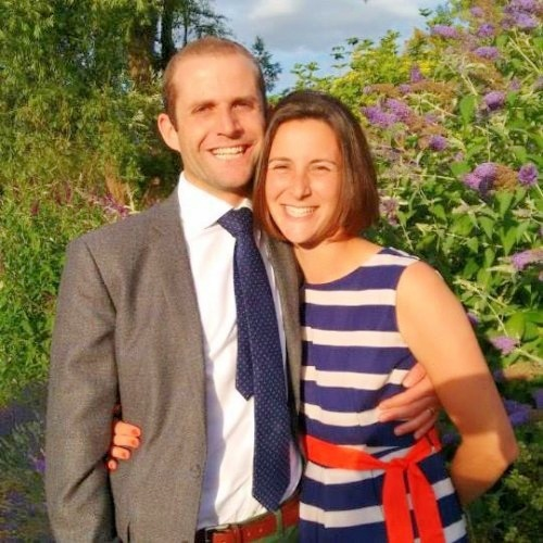 Ben Abrahams with his wife, Kate. (Picture submitted by family).