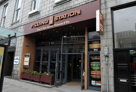 The Filling Station in Aberdeen