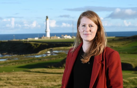 Fiona McIntyre, managing director of  the Greyhope Bay project