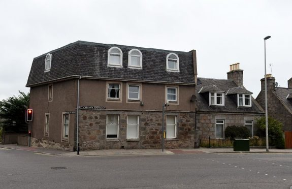 Hutcheon Street is among the locations where homes  could be demolished. (Picture: Kenny Elrick)