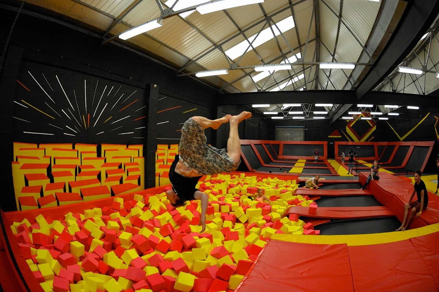 Infinity trampolining in Inverness