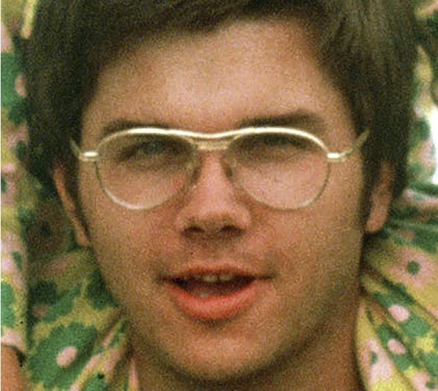 A file pic from 1975 of Mark Chapman