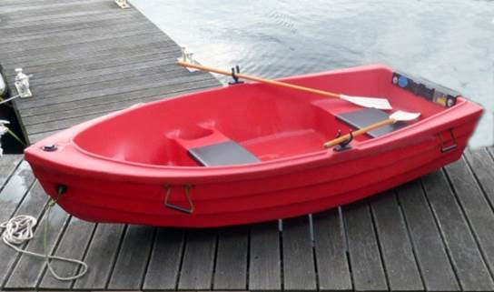 The mystery dinghy recovered from Loch Ness