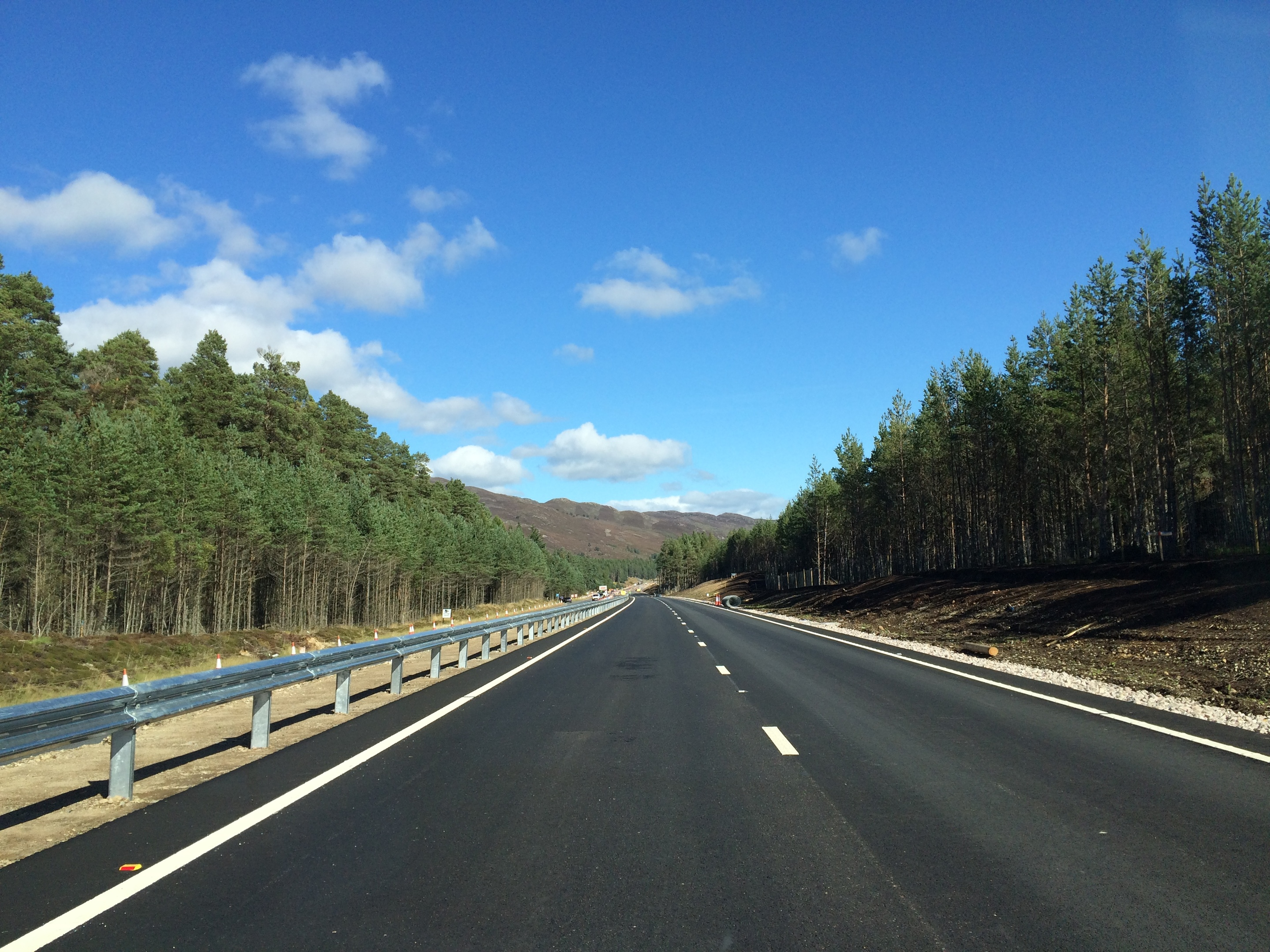 Sections of the A9 have already been dualled