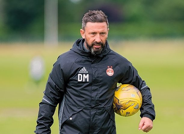 Aberdeen manager Derek McInnes was speaking ahead of tonight's match in Larnaca.