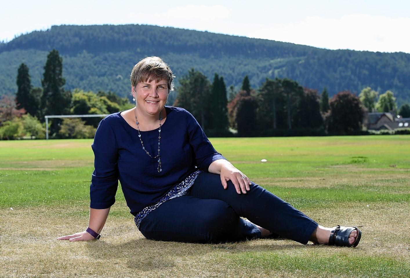 Aileen Longino, Aberdeenshire Voluntary Action Development Office - Aboyne, Ballater & Braemar areas