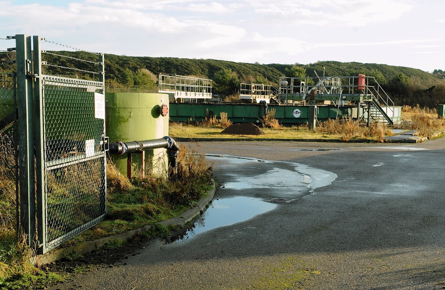 The Ardersier sewage plant upgrade has reached a significant milestone.