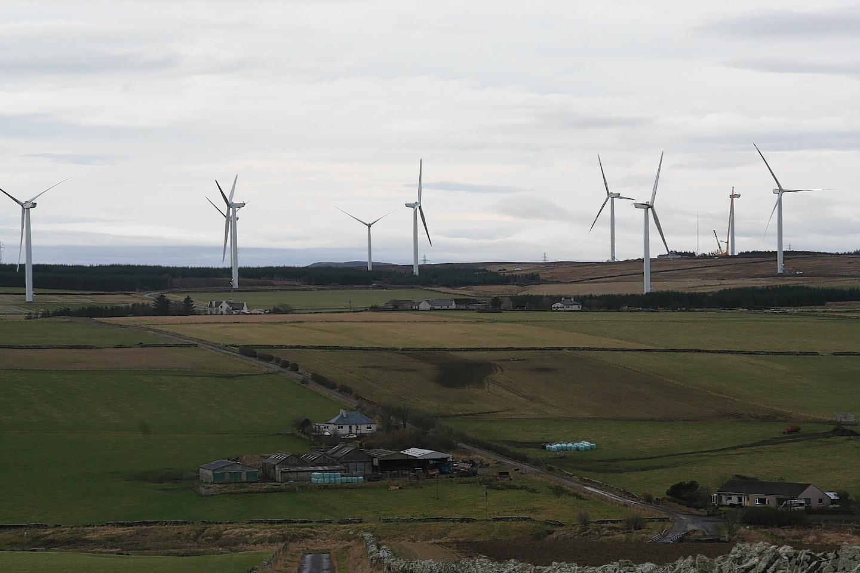 Baillie Windfarm near Thurso
