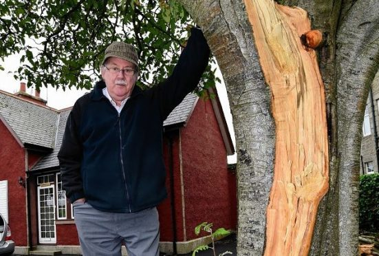 Former police officer Bob Strachan has urged the council to act.