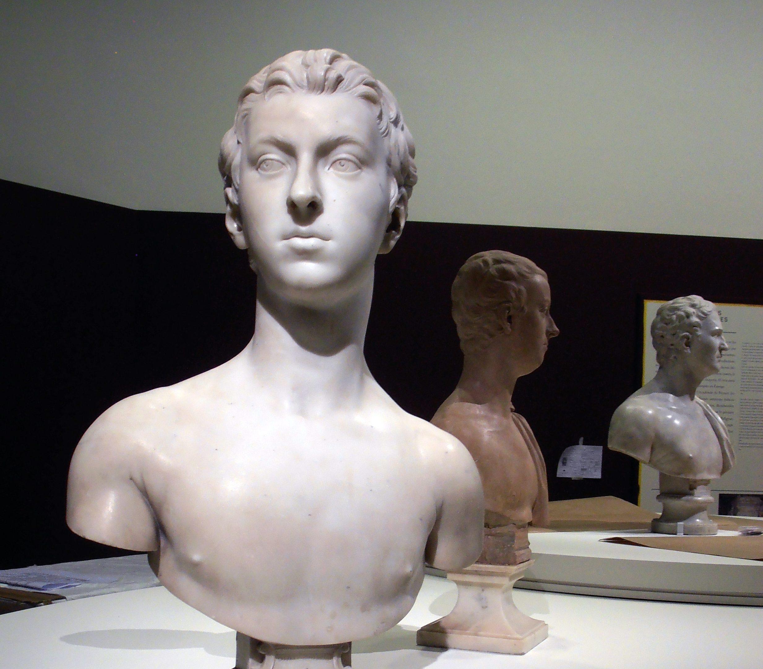 Edmé Bouchardon's sculpture of Sir John Gordon