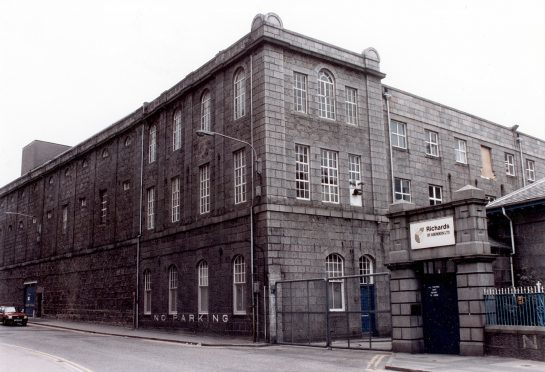 The iconic Broadford Works site before it fell into disrepair. 1996.