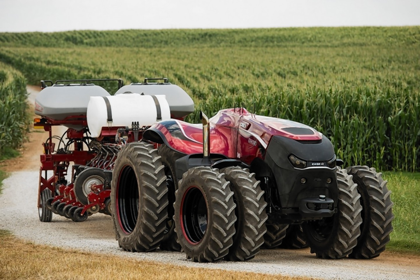 The cabless concept Case IH Magnum.