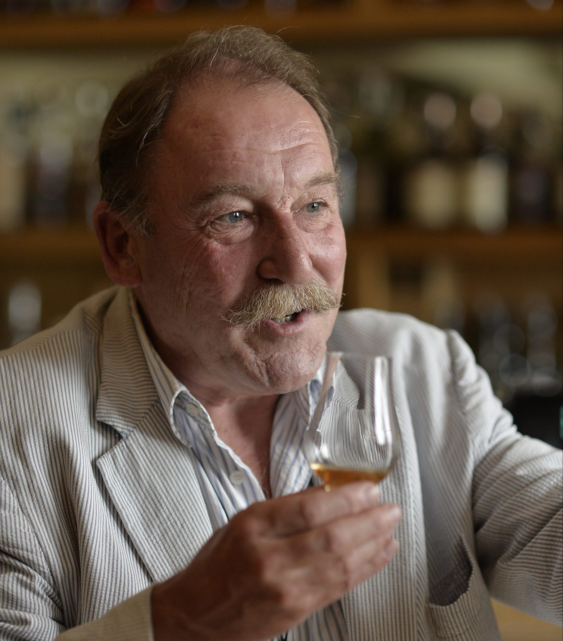 Whisky writer and researcher Charles MacLean will be a special guest at this year's festival
